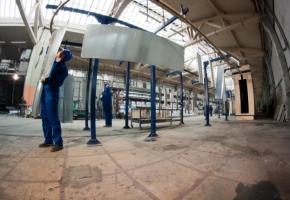 Die neue automatische Multi-Metall Linie für die elektrostatische Lackierung 1.1