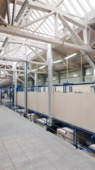 Die neue automatische Multi-Metall Linie für die elektrostatische Lackierung 2.1